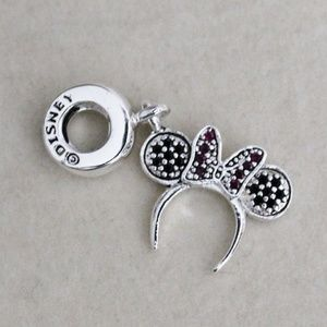 🌺Disney Minnie Mouse Ears Headband Charm🌺